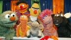 Die Darsteller-Puppen der «Sesamstrasse» in einem Atelier im Studio Hamburg für die Fotografen. Am 10. Nov. 1969 wurde das amerikanische Original, die «Sesame Street», in den USA zum ersten Mal ausgestrahlt.