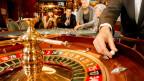 Roulette in einem Casino. Symbolbild.