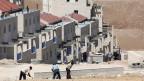Die Jüdische Siedlung Ma'ale Adumim im Westjordanland, östlich von Jerusalem.