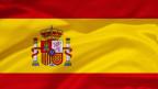 Symbolbild. Die Fahne von Spanien.