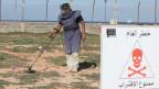 Landminen-Räumung in Libyen.