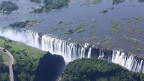 Die Viktoriafälle in Simbabwe/Afrika.