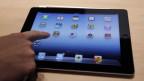 Ein Tablet des Apple-Konzerns.