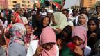 Viele Sudanesinnen marschierten an vorderster Front mit bei den Protesten.