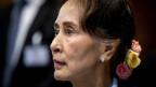 Regierungschefin von Burma, Aung San Suu Kyi.