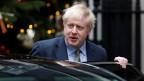 Britanniens Premierminister Boris Johnson verlässt die Downing Street auf dem Weg zum Buckingham Palace nach den Parlamentswahlen in London am 13. Dezember 2019.