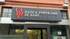 Das Logo der Bank Popolare di Bari.