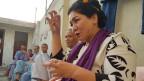 Laila Haidari: In Afghanistan könne man nicht einfach warten, bis andere Menschen zu Hilfe eilen. Hier müsse man sich selbst helfen.