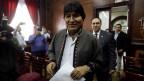 Evo Morales, ehemaliger Präsident von Bolivien.