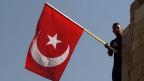 Die türkische Flagge. Symbolbild.