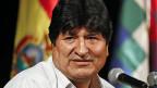 Evo Morales, Ex-Präsident von Bolivien.