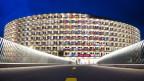 Das Vortex-Gebäude: Die Athlethenunterkunft der Olympischen Jugendspiele wird auch die neue Studentenunterkunft.