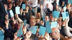 An der Delegiertenversammlung in Schindellegi