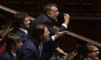 Unmut bei linken Abgeordneten im Parlament in Rom, 2019