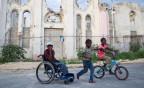 In den Strassen von Port-au-Prince