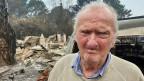Ron Stainstreet (81) hat beim Feuer alles verloren.
