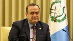 Der neue guatemaltekische Präsident Alejandro Giammattei.