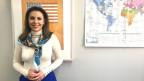 Die Amerikanerin Morgan Ortagus kennt sich im Nahen Osten aus und ist Reserve-Offizierin in der Navy