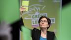 Regula Rytz an der Delegiertenversammlung der Grünen in Frauenfeld