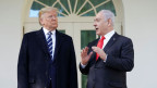 US-Präsident Donald Trump (links) und Israels Premierminister Benjamin Netanyahu.