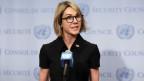 Die US-Botschafterin Kelly Craft am UNO-Hauptquartier im September 2019.