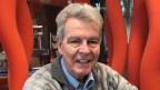 Bruder Willi Anderau im Radiostudio in Zürich.