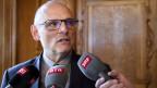 Alfred Heer, Präsident der Geschäftsprüfungsdelegation GPDel.