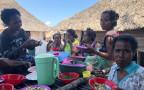 Ein Fischerdorf in Osttimor