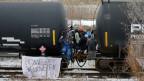 Indigene legen in Kanada Teile des nationalen Eisenbahnnetzes lahm.