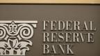 Das Logo der Federal Reserve Bank in den USA.