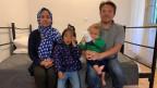 Die afghanische Familie Ahmadi lebt seit Januar in einer kleinen Wohnung in Athen.