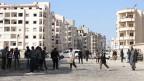 Menschen, die in der syrischen Region Idlib leben, benötigen Hilfsgüter.