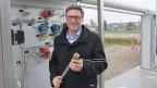 Thomas Fürst, Geschäftsführer von Hydrospider, bei der Wasserstoff-Anlage in Niedergösgen (Kt. SO).