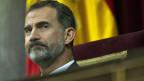 Spaniens König bricht mit seinem Vater