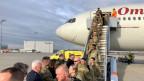 US-Soldaten treffen in Deutschland ein, um am Nato-Großmanöver «Defender-Europe 2020» teilzunehmen.