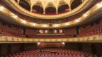Der leere Saal im Stadttheater Bern.