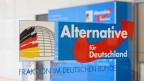 Das Logo der rechts-aussen Partei AfD in Deutschland.