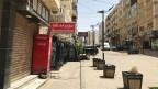 Leere Strassen im Stadtteil Sweifieh  in Amman, Jordanien. Einkaufen ist nur zwischen 10 und 18 Uhr erlaubt.