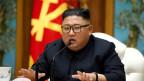 Der nordkoreanische Machthaber Kim Jong Un am 11. April 2020.