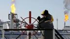Öl-Förderanlage in Russland.