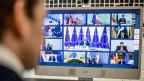 Videokonferenz der Staats- und Regierungschefs der Europäischen Union.