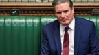 Der britische Oppositionsführer Keir Starmer im Parlament.