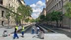 Eine Rampe für Orban: «Trianon»-Mahnmal in Budapest.