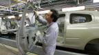Renault-Produktionsstätte in Frankreich.