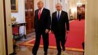 US-Präsident Donald Trump (links) und Isreals Premierminister Benjamin Netanjahu (Bild vom 21. März 2019).