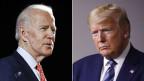 Ex-Vice-Präsident Joe Biden (links) und US-Präsident Donald Trump.