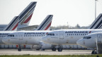 Auch die Flugzeuge der Air France bleiben zu Corona-Zeiten am Boden.