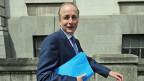 Fianna Fail-Chef Micheal Martin, der Irlands nächster Premierminister werden soll.