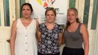 Francesca Scotto Rosato (rechts) und ihr Team vom Sorgentelefon für Arbeitnehmer, dem «telefono rosso».
