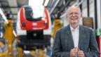Vincent Ducrot, CEO der SBB, posiert am Freitag, 3. Juli 2020 in Yverdon.
